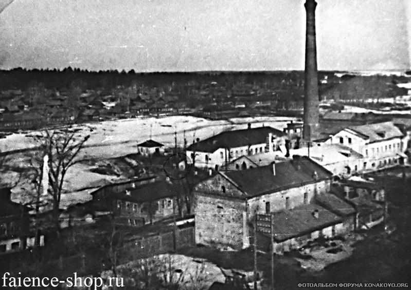 Фаянсовый завод в начале 20 века